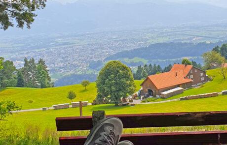 Aussicht Freienland Walzenhausen