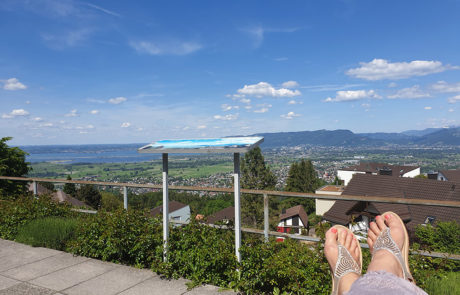 Aussicht vom Güetli Walzenhausen