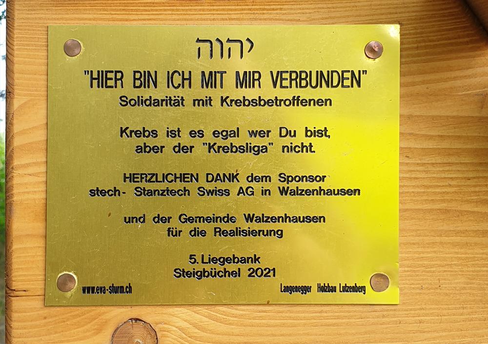5. Liegebank Steigbüchel Walzenhausen