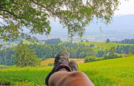 Aussicht Steigbüchel Walzenhausen